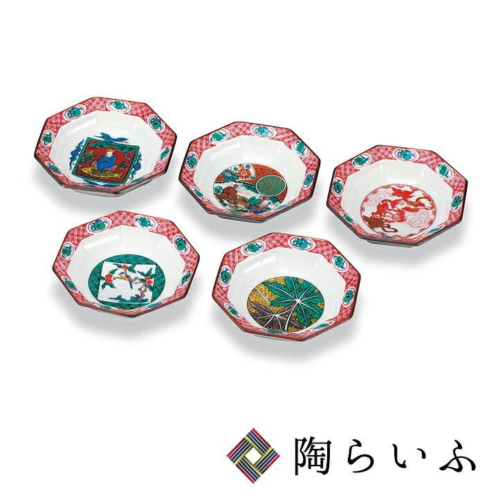 【九谷焼】3.3号皿揃 歴代画<和食器 皿 人気 ギフト セット 贈り物 結婚祝い/内祝い/お祝い/>