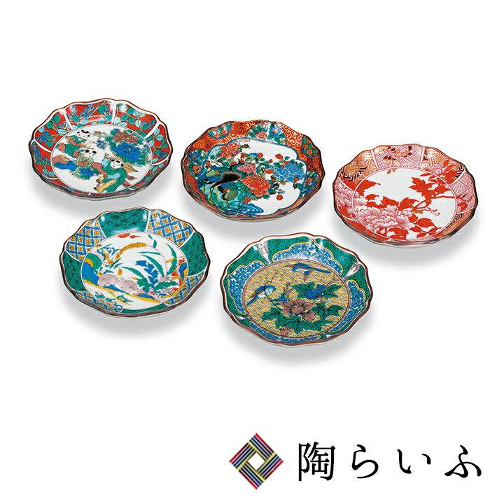九谷焼 3.5号皿揃 歴代画<送料無料>和食器 皿 人気 ギフト セット 贈り物 結婚祝い/内祝い/お祝い/
