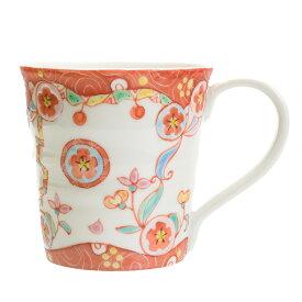 九谷焼 マグカップ 花の王宮/銀舟窯<和食器 マグカップ 人気 ギフト 贈り物 結婚祝い/内祝い/お祝い>