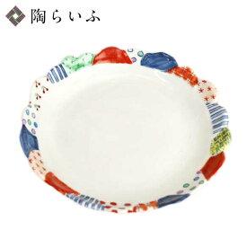 九谷焼 盛皿 ソメパッチ/久田恵美<和食器 皿 盛皿 パスタ皿 人気 ギフト 贈り物 結婚祝い/内祝い/お祝い>