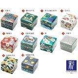 【九谷焼】10種類から選べる色絵陶箱彩/青郊窯