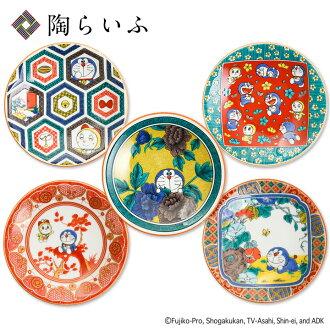 Doraemon small dish <celebration of Japanese dishes Kutani chinaware small dish serving plate popularity gift Father's Day present present resignation / family celebration / celebration> available from a Kutani chinaware 5 pattern