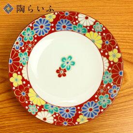 九谷焼 5号皿 梅菊文/青郊窯<和食器 皿 取り皿 人気 ギフト 贈り物 結婚祝い/内祝い/お祝い/>
