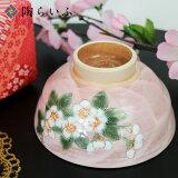 【九谷焼】こでまり茶碗(小)/青良窯