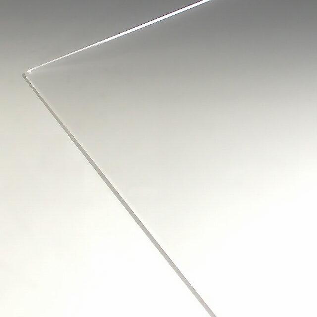 アクリル 板(押出し)透明-板厚(4mm) 910mm×600mm★ 1枚分オーダーカット無料(直角カットのみ) ★(アクリル 板 フィギュアケース パネル テーブルマット アクリル 板)