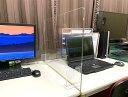 サイドパーテーション sc600 60センチ×45センチ アクリルパーテーション デスク カウンター テーブル パーテーション アクリル板 サイ…