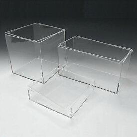 アクリル 透明 収納 ボックス W250mm×H250mm×D250mm 4mm厚 アクリル板 アクリルケース プラスチックケース アクリルボックス | 小物入れ ケース 収納ケース 収納ボックス おしゃれ 小物 クリアケース クリアボックス フタ付き 箱 着物 小物収納ケース 展示ケース