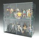 コレクションラック ガラス色 W450×H450×D200 引き戸タイプ アクリル板 アクリルケース クリア プラスチックケース 透明ケース アク…