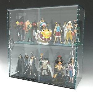 コレクションラック アクリル ガラス色 W900×H300×D200 引き戸タイプアクリル板 アクリルケース クリア コレクションケース プラスチックケース 透明ケース アクリルボックス