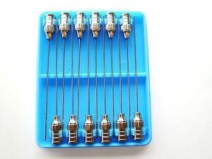 ガラス注射器専用注射針(長さ50mm)-12本セット針 注射針 注射器 ガラス アクリル 接着剤 プラモデル 模型 DIY 工具 手芸 ペットの餌やり 修理 昆虫 まとめ買い 工作用 内装 クロス 浮き 通販