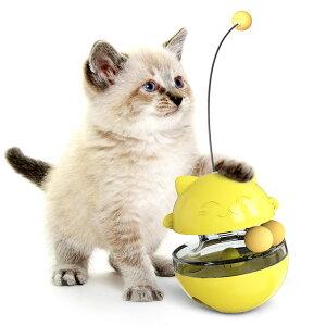 猫用 おもちゃ ペット 餌入れ知育玩具 猫じゃらし ボールおもちゃ レールおもちゃ おやつボール 倒れない 知育玩具 IQステップボール 運動不足の解消