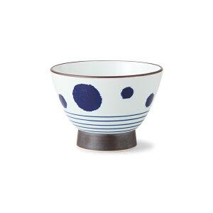 波佐見焼 丸紋ライン くらわんか碗 325ml 飯碗 ごはん茶碗 お茶碗 はさみ焼 HASAMI おしゃれ