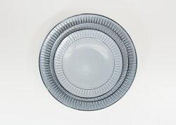 波佐見焼霧鎬8号皿Φ24.5×高さ3.5cmはさみ焼うつわお皿プレート和食器陶器盛り皿メイン料理通販