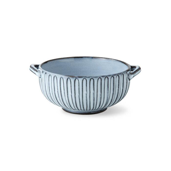 波佐見焼 霧鎬 耳付スープ碗 425ml おかず鉢 うつわ 陶器 はさみ焼 盛り鉢 スープ皿 和食器 通販 楽天 HASAMI おしゃれ