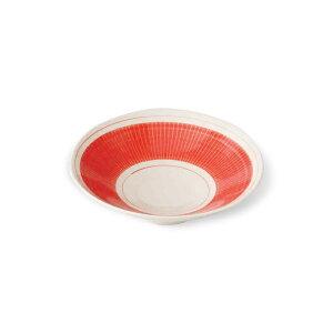 波佐見焼 絹十草 平鉢 Φ15.5cm 赤 小鉢 こばち お皿 うつわ お浸し 酢の物 食器 はさみ焼 磁器 電子レンジ使用可 通販 楽天 HASAMI おしゃれ