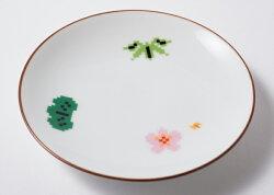 波佐見焼松竹梅小皿磁器取り皿はさみやき日本製お土産ギフト贈り物人気即納ポーセリンズThePorcelains通販楽天子供用食器うつわ