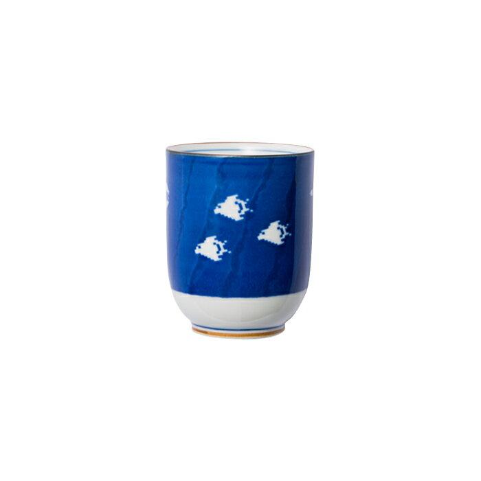 波佐見焼 空に千鳥 湯呑 ゆのみ 湯飲み コップ カップ お茶 日本茶 日本土産 ギフト 贈り物 通販 楽天 大図まこと プレゼント ポップ ポーセリンズ The Porcelains HASAMI おしゃれ