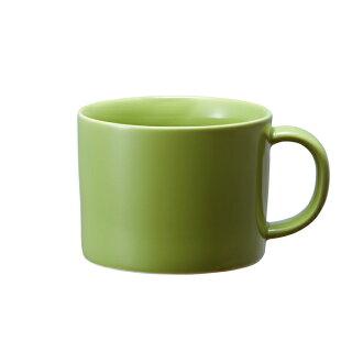《良好设计奖获奖》Common汤啤酒杯茶杯380ml绿色啤酒杯茶杯一般komon微波炉可的剪刀焼《长崎县生产的波佐見焼》