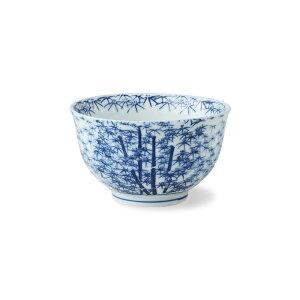 波佐見焼 西花 若竹 仙茶 Φ9×5cm 175ml 磁器 ゆのみ 湯飲み お茶 茶器 はさみ焼 通販 HASAMI おしゃれ