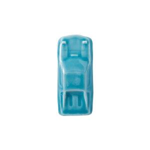 波佐見焼 スーパーカー 箸置き 青 2.6×6.5×高さ2cm はしおき レスト インテリア 車 オブジェ 磁器 はさみ焼 和食器 HASAMI おしゃれ
