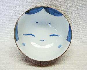 波佐見焼 ご飯茶碗 おかめ (赤) 《長崎県産の・はさみ焼》 HASAMI おしゃれ