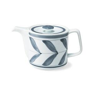 波佐見焼 マジョリカ SSポット バード 550ml 網茶こし付き ポット 急須 紅茶 お茶 緑茶 ティーポット 茶器 SS茶こし 北欧風 はさみ焼 手描き 通販 HASAMI おしゃれ