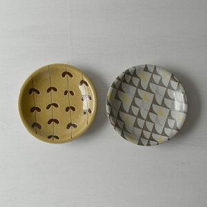 波佐見焼 φ20センチパスタプレート2柄2枚セット パレット 皿 盛り皿 陶器 はさみ焼 HASAMI おしゃれ 絵変わり
