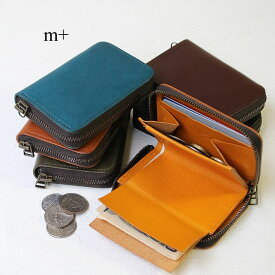 【楽天カードで12倍】m+ エムピウ コンパクト財布 サイフ ゾンゾ m+ zonzo 小さい財布 ラウンドファスナー エムピウ 正規品 ギフト プレゼント