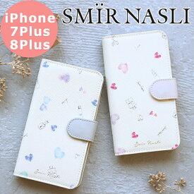 サミールナスリ iphoneケース SMIRNASLI iPhone7plus/8plus 対応 手帳型 SMIR NASLI モバイルケース スマホケース 011132284 Cosmetic Mobile case ブック アイフォン カバー おしゃれ 可愛い カードケース ミラー iPhone7プラス iPhone8プラス