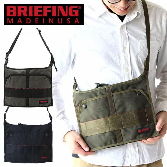 ブリーフィング サコッシュ ショルダーバッグ BRIEFING T-SACOCHE SHOULDER BAG BRM183206 Made in USA アメリカ製 T サコッシュ メンズ レディース スリム コンパクト プレゼント 父の日