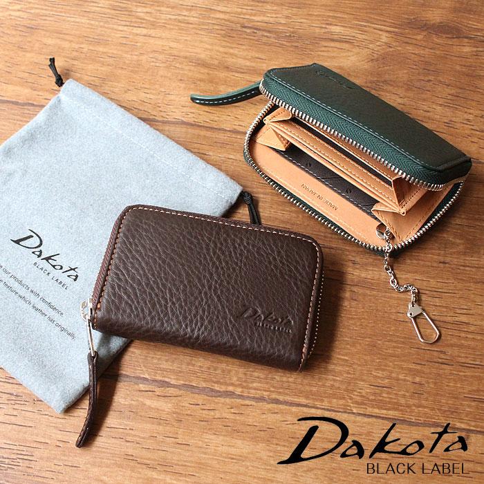 Dakota ダコタ 財布 ブラックレーベル BLACK LABEL アレキサンダー キーケース付きパスケース 625405 メンズ パスケース キーケース コインケース 正規品 ギフト