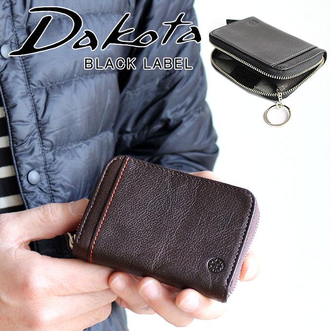 Dakota ダコタ ブラックレーベル マルチコインケース 財布 リバーII 小銭入れ キーケース パスケース カードケース 625707 メンズ レザー 本革 コンパクト ミニ財布 正規品 ギフト