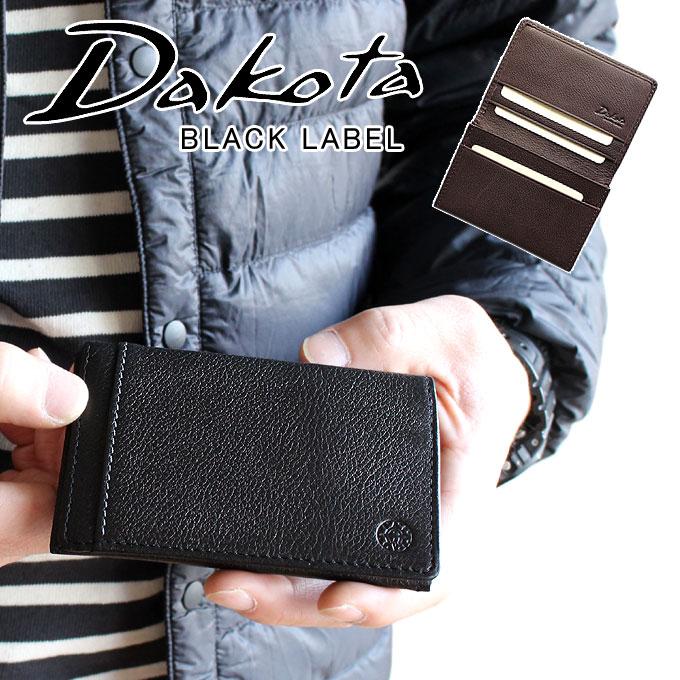Dakota ダコタ 名刺入れ リバーII カードケース 625706ブラックレーベル BLACK LABEL メンズ レザー 本革 財布 正規品 ギフト