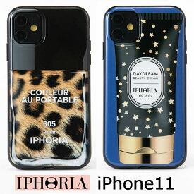 アイフォリア IPHORIA iPhone11 対応 iphoneケース iphone11ケース アイホリア 可愛い モバイルケース スマホケース ネイルポリッシュ レオパード ヒョウ柄 マニキュア レディース ブランド アイフォンケース かわいい