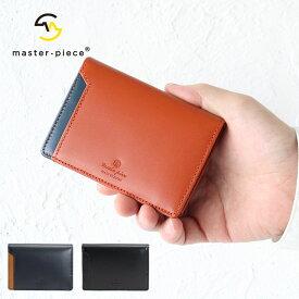 マスターピース カードケース 名刺入れ レザーカードケース ステアレザー キップレザー 革 メンズ レディース master piece Notch 223054