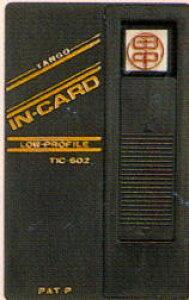 カード式はんこ/カード型印鑑「インカード」/タンゴ社 薄型印鑑「IN・CARD(インカード)」既製品 送料無料