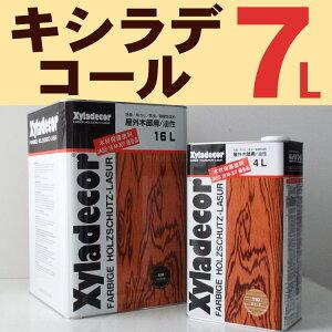 キシラデコール【#112:ジェットブラック】7L 日本エンバイロケミカルズ・カンペハピオ