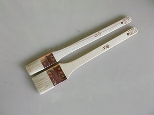 塗料屋さんオリジナル平刷毛「ゆり」 8号・24mm