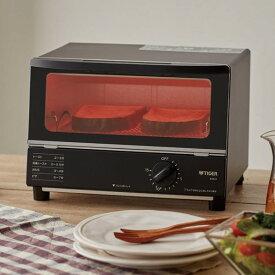 【送料無料】KAK-H100K タイガー オーブントースター やきたて コンパクト 1000W【RCP】 TIGER KAK-H100-K