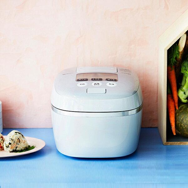 【9/26頃入荷予定】【JPC-A101】【送料無料】 炊飯器 5.5合 タイガー 圧力IH炊飯ジャー 土鍋コーティング【RCP】TIGER 圧力IH炊飯器 炊きたて ホワイトグレー JPC-A101-WH