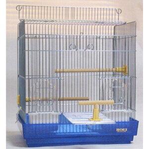 鳥かご 40手のりラメBL 手のりケージ(中型) HOEI(豊栄/ホーエイ)