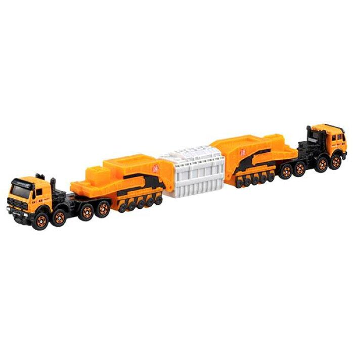トミカ ロングタイプトミカ No.127 メルセデスベンツ 4850 240型 シュナーベル式トレーラー (箱タイプ) | おすすめ 誕生日プレゼント ギフト おもちゃ
