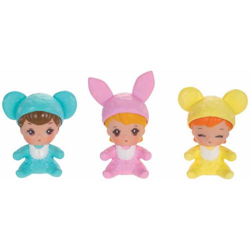 リカちゃん お人形 LD-35 みつごのあかちゃん アニマルぼうしのロンパース | おすすめ 誕生日プレゼント ギフト おもちゃ