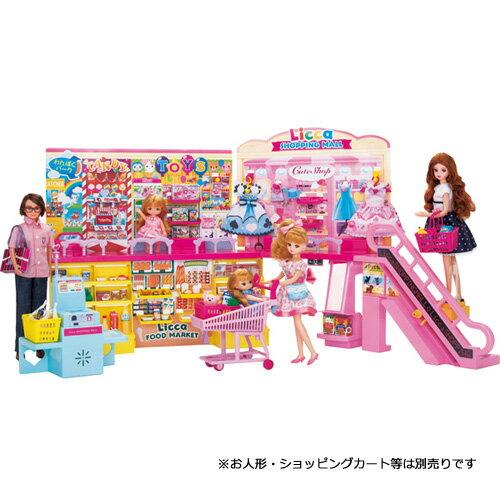 リカちゃん セルフレジでピッ! おおきなショッピングモール | おすすめ 誕生日プレゼント ギフト おもちゃ