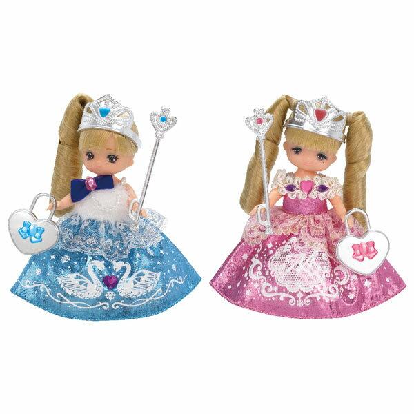 リカちゃん お人形 ゆめみるお姫さま ミキちゃんマキちゃんふたごのプリンセスセット