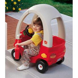 [次回入荷2月下旬頃][メーカー直送品] ちびっこマイクーペ レッド [代引き不可 同梱不可 包装不可]  乗用玩具 乗り物 おもちゃ