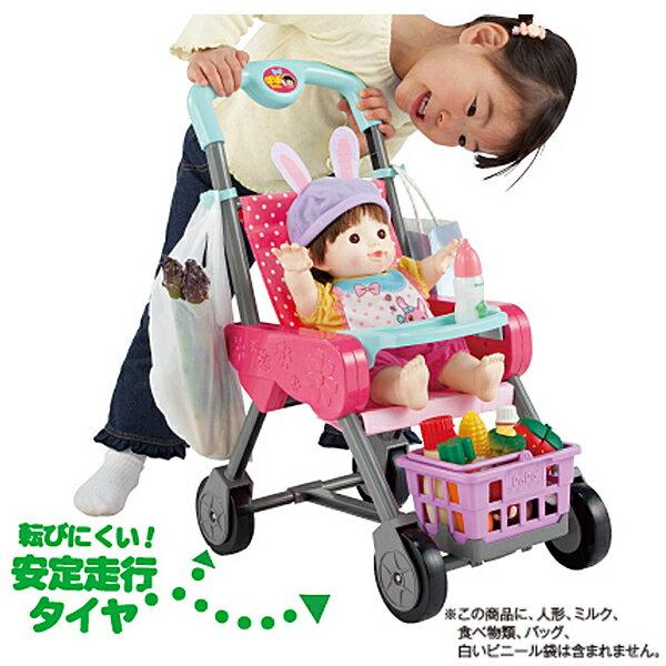 ぽぽちゃん パーツ カゴ&お世話テーブルつき ぽぽちゃんのお買いものベビーカー ラズベリーピンク