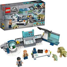 レゴ(LEGO)ジュラシック・ワールド ウー博士の研究所:赤ちゃん恐竜の脱走 75939 | ブロック