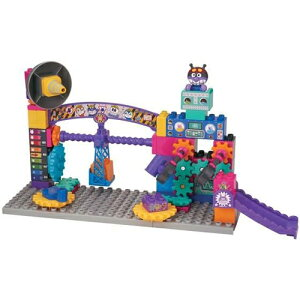 アンパンマン ブロックラボ ばいきんまんのくるくるメカ工場ブロックバケツ | おすすめ 誕生日プレゼント ギフト おもちゃ