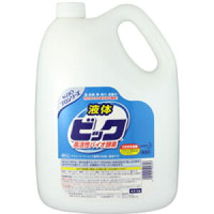 【送料無料】花王 液体ビック バイオ酵素 業務用サイズ 4.5Lボトル×4本